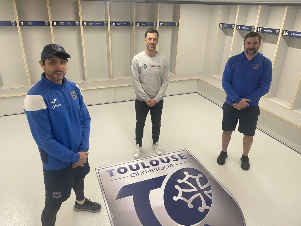partenariat myrookie x Toulouse Olympique